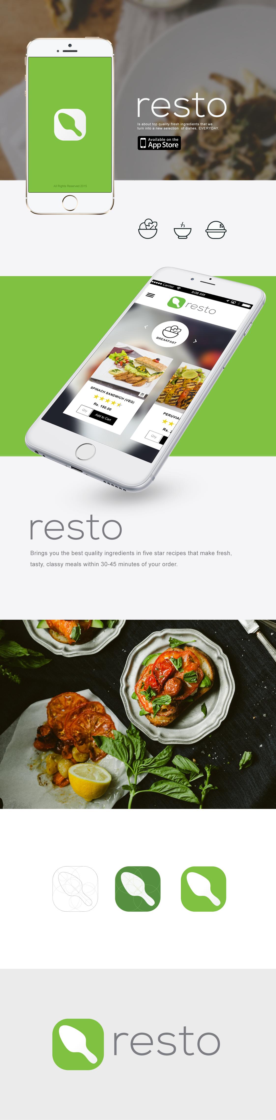 Behance-resto